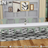 Modular Seamless Table Sims 4