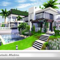 Nintada Modern Home Sims 4