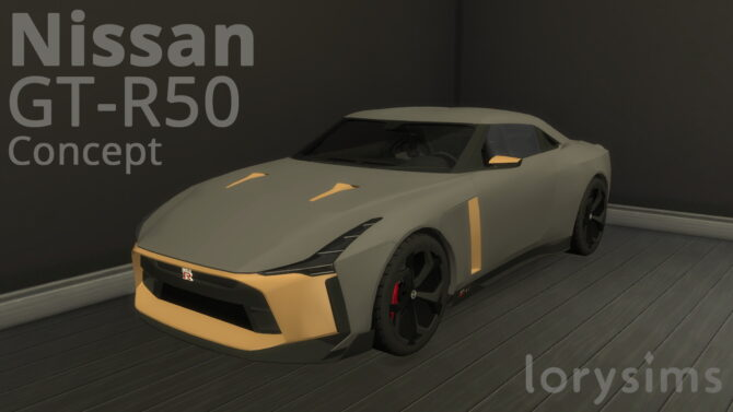 Nissan GT R50 Concept by LorySims4