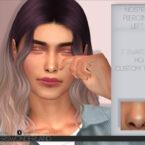 Nostril Piercing LEFT Sims 4 CC