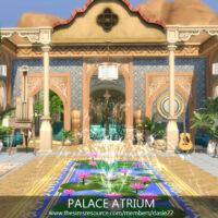 Palace Atrium Sims 4 Room