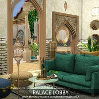 Palace Lobby Sims 4 By Dasie2