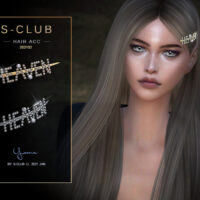 Pearl hairpin by S Club Sims 4 CC