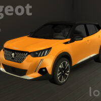 Peugeot 2008 by Lory Sims 4