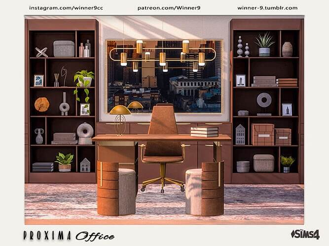 Proxima Sims 4 Office