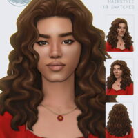 ROSA Hair by simstrouble