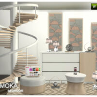 Raymoka bedroom part 2 by JomSims4