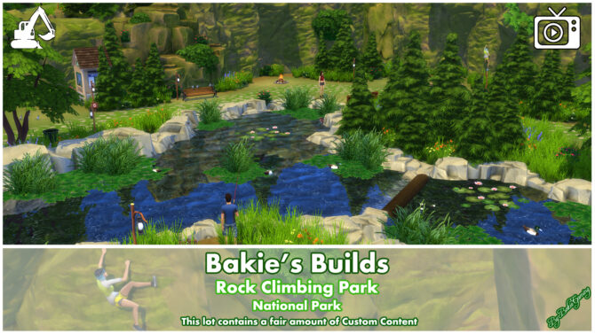 Sims 4 Rock Climbing National Park by Bakie at Mod The Sims