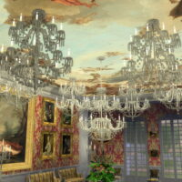 Royal Crystal Sims 4 Chandelier Set
