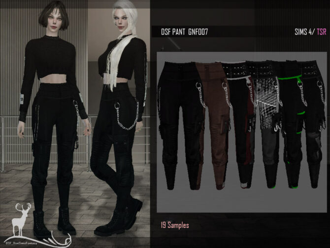 SIMS 4 PANTS GNF007