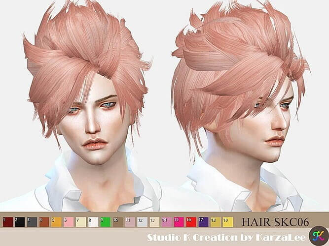 Skc06 Jun Hair Sims 4