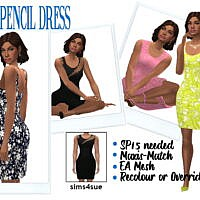 SP15 PENCIL DRESS