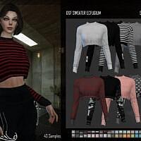 Sweater Ecfugium Sims 4