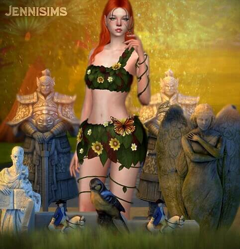 Sculpture Statues Sims 4