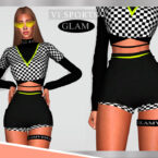 Shorts SPORTGLAM VI I by Viy Sims 4 CC