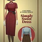 Simply Sweet Sims 4 Dress