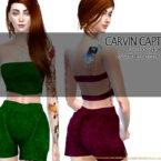 Sims 4 CC Lexy Short Pants