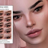Sims 4 Eyebrows NB16