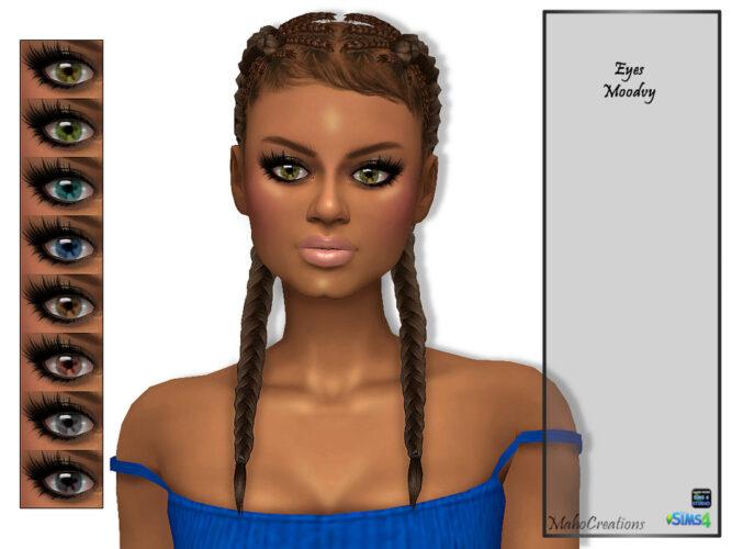 Sims 4 Eyes Moodvy by MahoCreations