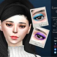 Sims 4 Eyeshadow HQ by Caroll91