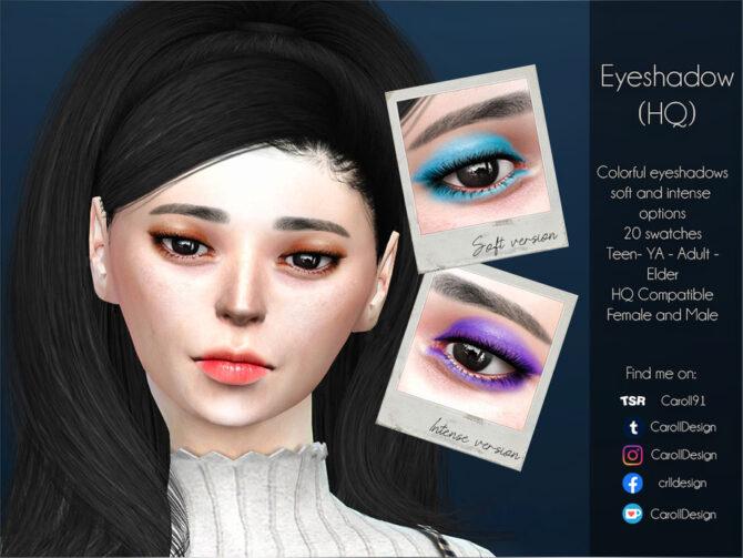 Sims 4 Eyeshadow HQ by Caroll91 at TSR
