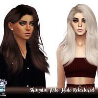 Sims 4 Hair Retexture Anto Hide