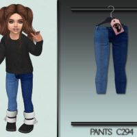 Sims 4 Jeans for little girls