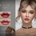 Sims 4 Lipstick 202101 By S Club Wm