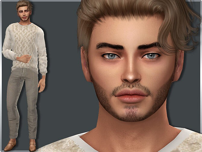 Sims 4 Male Louis Fortin 1