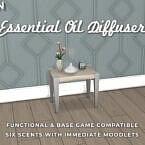 Sims 4 Mod Essential Oil Diffuser