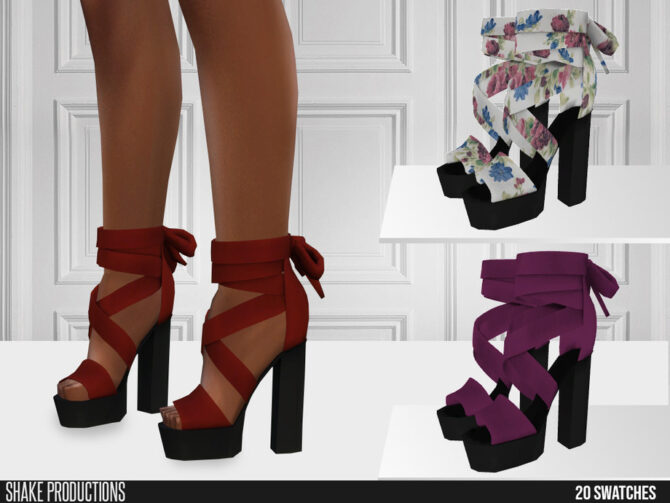 Sims 4 Shoes High Heels by ShakeProductions