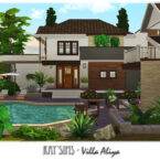 Sims 4 Villa Aliya by Ray Sims
