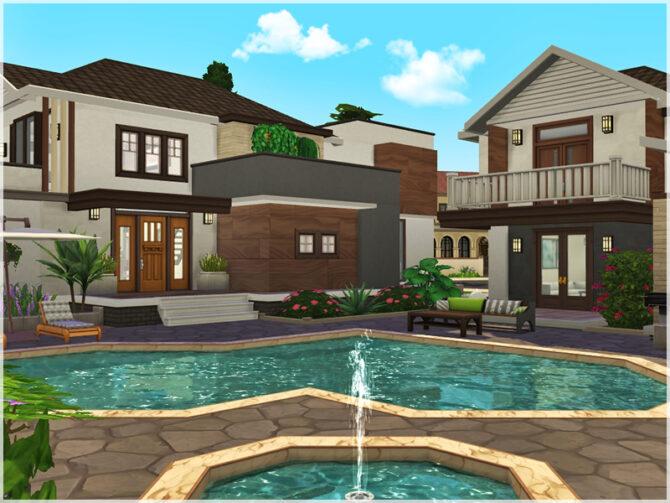 Sims 4 Villa Aliya by Ray Sims at TSR