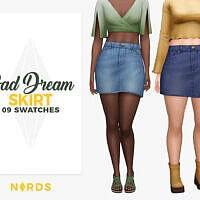 Skirt Sims 4 Bad Dream