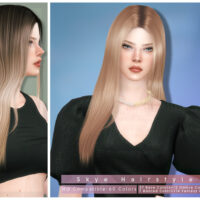 Skye Sims 4 Hair for Females