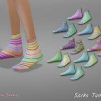 Socks Tamina 1 by Jaru Sims 4