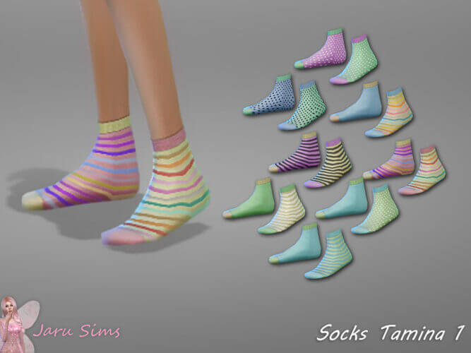 Socks Tamina 1 by Jaru Sims 4