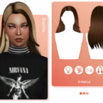 Sophia Hairstyle by EnriqueS4 Sims 4 CC