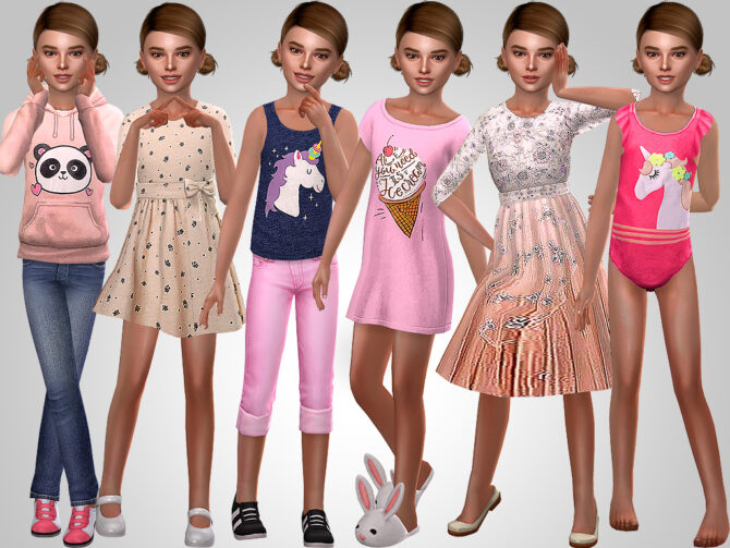 Sims 4 Sophie Forster at MSQ Sims