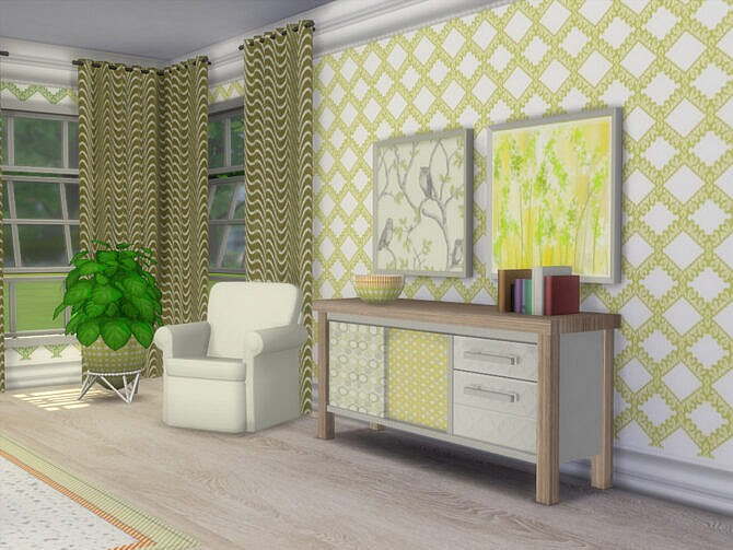 Sims 4 Spring Is Coming Dining Set by seimar8 at TSR