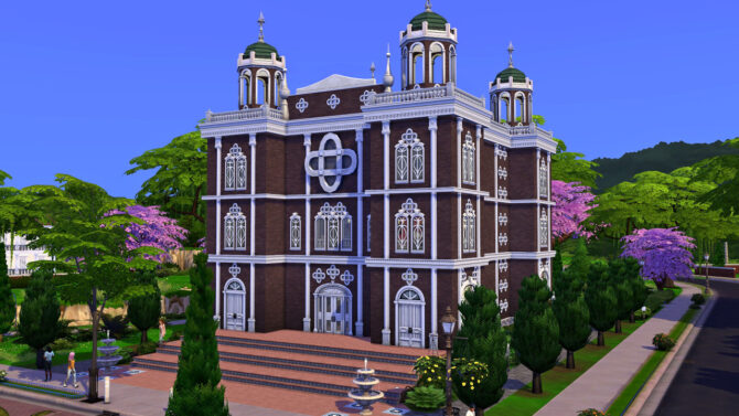 St Plumbob Church Sims 4