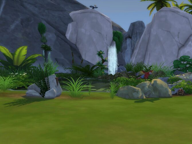 Sims 4 Stoneage Third Camp at KyriaT's Sims 4 World