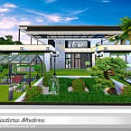Sutadara Modern Sims 4 Villa