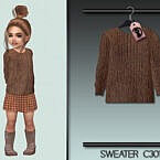 Sweater Sims 4 C301 By Turksimmer