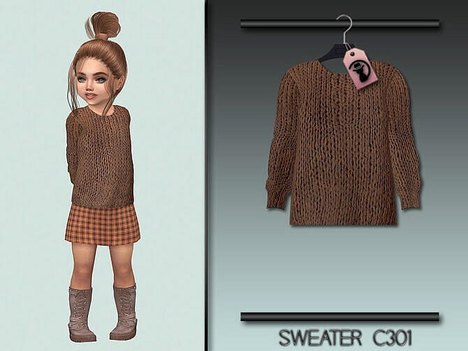 Sims 4 Sweater C301 by turksimmer at TSR
