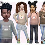 Sweater Sims 4 Toddler Animal By Pinkfizzzzz