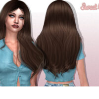 Sweet Cake Sims 4 Hairstyle