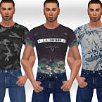 T Shirts Sims 4 Male Casual