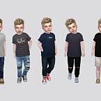 Tees Toddler Sims 4 Semi Rolled Basic