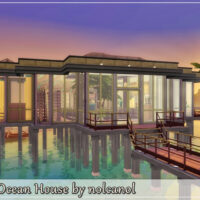 The Ocean House Sims 4 by nolcanol